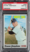 Baseball Cards:Singles (1970-Now), 1970 Topps Duane Josephson #263 PSA Gem Mint 10....