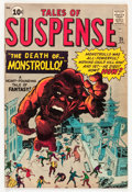 Silver Age (1956-1969):Adventure, Tales of Suspense #25 (Marvel, 1962) Condition: VG+....