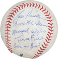 Autographs:Baseballs, 2007 Lou Piniella 3,000th Game as Manager Used Baseball....