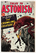 Silver Age (1956-1969):Mystery, Tales to Astonish #22 (Marvel, 1961) Condition: VG/FN....