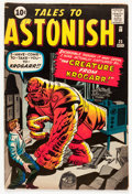 Silver Age (1956-1969):Horror, Tales to Astonish #25 (Marvel, 1961) Condition: FN....