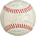 Autographs:Baseballs, 1958 San Francisco Giants Team Signed Baseball....