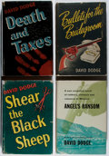 Books:Mystery & Detective Fiction, David Dodge. Group of Four First Edition Books. Various, 1941-1956.Overall very good.... (Total: 4 Items)