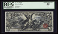 Large Size:Silver Certificates, Fr. 270 $5 1896 Silver Certificate PCGS Choice About New 58.. ...