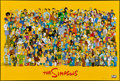 """Movie Posters:Animation, The Simpsons (20th Century Fox, 1998). Television One Sheet (27"""" X 40"""") SS. Animation.. ..."""