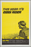 "Movie Posters:Drama, Easy Rider (Columbia, 1969). One Sheet (27"" X 41"") Style C. Drama.. ..."