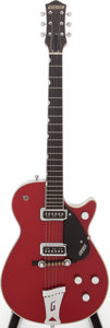 Musical Instruments:Electric Guitars, 1958 Gretsch Model 6131 Jet Firebird Red Solid Body ElectricGuitar, Serial # 28044....