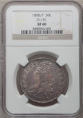 Bust Half Dollars: , 1808/7 50C XF40 NGC. O-101. NGC Census: (23/99). PCGS Population(32/90). Numismedia Wsl. Price for problem free NGC/PCGS...