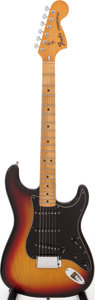 Musical Instruments:Electric Guitars, 1977 Fender Stratocaster Solid Body Electric Guitar, Serial #S783442....