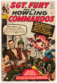 Sgt. Fury and His Howling Commandos #1 (Marvel, 1963) Condition: GD/VG