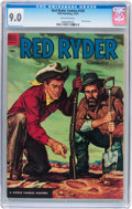 Golden Age (1938-1955):Western, Red Ryder Comics #135 (Dell, 1954) CGC VF/NM 9.0 Off-white pages....