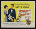 "Movie Posters:Comedy, 40 Pounds of Trouble (Universal International, 1963). Half Sheet(22"" X 28""). Comedy. Starring Tony Curtis, Suzanne Pleshett..."