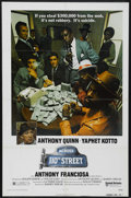 "Movie Posters:Crime, Across 110th Street (United Artists, 1972). One Sheet (27"" X 41"").Crime. Starring Yaphet Kotto, Anthony Quinn, Anthony Fran..."