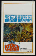 "Movie Posters:War, Attack on the Iron Coast (United Artists, 1968). Window Card (14"" X22""). War. Starring Lloyd Bridges, Andrew Keir, Sue Lloy..."