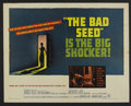 """Movie Posters:Thriller, The Bad Seed (Warner Brothers, 1956). Half Sheet (22"""" X 28""""). Thriller. Starring Nancy Kelly, Patricia McCormack, Henry Jone..."""