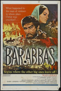 "Movie Posters:Adventure, Barabbas (Columbia, 1962). One Sheet (27"" X 41""). Biblical Drama.Starring Anthony Quinn, Silvana Mangano, Arthur Kennedy an..."
