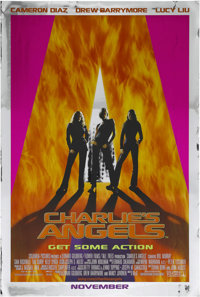 "Charlie's Angels (Columbia, 2000). One Sheet (27"" X 41""). Action. Starring Cameron Diaz, Drew Barrymore, Lucy..."
