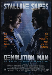 """Demolition Man (Warner Brothers, 1993). One Sheet (27"""" X 41""""). Science Fiction. Starring Sylvester Stallone, W..."""