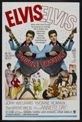 "Movie Posters:Elvis Presley, Double Trouble (MGM, 1967). One Sheet (27"" X 41""). Musical.Starring Elvis Presley, Annette Day, John Williams and Yvonne Ro..."