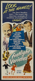 "Movie Posters:Musical, Footlight Varieties (RKO, 1951). Insert (14"" X 36""). Musical Comedy. Starring Jack Paar, Frankie Carle, Bill Days, Red Butto..."