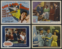 """Give a Girl a Break (MGM, 1953). Title Card (11"""" X 14"""") and Lobby Cards (3) (11"""" X 14""""). Musical. St..."""