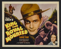 """Movie Posters:Drama, King of the Royal Mounted (20th Century Fox, 1936). Title Lobby Card (11"""" X 14""""). Drama. Starring Robert Kent, Rosalind Keit..."""