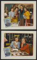 """Movie Posters:Comedy, A Kiss for Corliss (United Artists, 1949). Lobby Cards (2) (11"""" X 14""""). Comedy. Starring Shirley Temple, David Niven, Virgin... (Total: 2 Items)"""