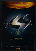 """Movie Posters:Science Fiction, Lost in Space (New Line, 1998). One Sheets (2) (27"""" X 41"""") Advance and Regular. Sci-Fi Action. Starring William Hurt, Mimi R... (Total: 2)"""