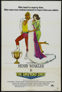 "The One and Only (Paramount, 1978). One Sheet (27"" X 41""). Comedy. Starring Henry Winkler, Kim Darby, Gene Sak..."