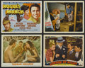 """Movie Posters:Action, Tarzan Escapes (MGM, R-1954). Lobby Cards (3) (11"""" X 14"""") and TitleLobby Card (11"""" X 14""""). Adventure. Starring Johnny Weiss... (Total:4 Items)"""