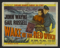 """Wake of the Red Witch (Republic, 1949). Title Lobby Card (11"""" X 14""""). Action. Starring John Wayne, Gail Russel..."""