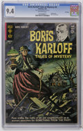 Silver Age (1956-1969):Horror, Boris Karloff Tales of Mystery #4 File Copy (Gold Key, 1963) CGC NM 9.4 Off-white pages. Painted cover. Back cover pin-up. O...
