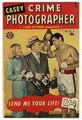 Golden Age (1938-1955):Crime, Casey-Crime Photographer #4 Mile High pedigree (Marvel, 1950) Condition: VF+. Photo cover. Overstreet 2006 VF 8.0 value = $9...