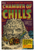 Golden Age (1938-1955):Horror, Chamber of Chills #10 (Harvey, 1952) Condition: VF-....