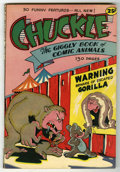 Golden Age (1938-1955):Funny Animal, Chuckle, The Giggly Book of Comic Animals #1 (R.B. Leffingwell Co.,1945) Condition: VF-. 132-page one shot. White pages. Ov...