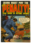 "Golden Age (1938-1955):Crime, Crime Must Pay the Penalty #29 Davis Crippen (""D"" Copy) pedigree (Ace, 1952) Condition: FN. Overstreet 2006 FN 6.0 value = $..."