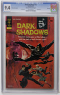 Bronze Age (1970-1979):Horror, Dark Shadows #15 File Copy (Gold Key, 1972) CGC NM 9.4 Off-white towhite pages. Painted cover. Joe Certa art. Overstreet 20...
