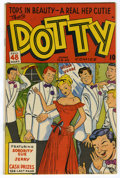 Golden Age (1938-1955):Romance, Dotty #35 Mile High pedigree (Ace, 1948) Condition: NM-. Overstreet2006 NM- 9.2 value = $65. From the John McLaughlin Col...