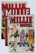 Golden Age (1938-1955):Romance, Millie the Model #4, 7, and 9 Group (Atlas/Marvel, 1947).... (Total: 3 Comic Books)