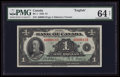 Canadian Currency: , BC-1 $1 1935 . ...