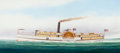 Maritime:Paintings, SCOTT CAMERON (American, b. 1946). The Steamer 'Chesapeake'. Oil on canvas. 20 x 44 inches (50.8 x 111.8 cm). THE MBN...
