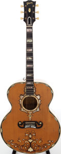 Musical Instruments:Acoustic Guitars, 1952 Gibson SJ-200 Custom Ray Price Owned Acoustic Guitar, Serial #A10626....