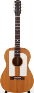 Musical Instruments:Acoustic Guitars, 1967 Gibson F-25 Folksinger Natural Acoustic Guitar, Serial #199326....