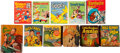 Big Little Book:Miscellaneous, Big Little Book Group (Whitman, 1938-68).... (Total: 11 ComicBooks)