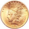 Indian Eagles, 1915 $10 MS65 PCGS....