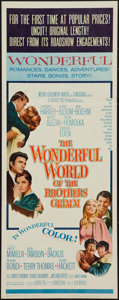 """Movie Posters:Fantasy, The Wonderful World of the Brothers Grimm (MGM, 1962). Insert (14""""X 36""""). Fantasy.. ..."""