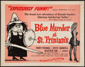 """Movie Posters:Comedy, Blue Murder at St. Trinian's (Continental Distributing, 1958). Half Sheet (22"""" X 28""""). Comedy.. ..."""