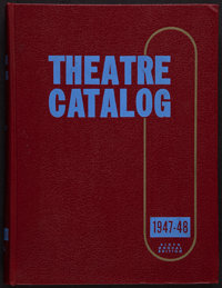 """Theatre Catalog (Jay Emanuel,1948). Hard Bound Exhibitor Catalog (592 Pages, 9.5"""" X 12.5"""") . Miscellaneous..."""