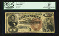 Large Size:Legal Tender Notes, Fr. 173 $100 1880 Legal Tender PCGS Apparent Very Fine 20.. ...