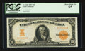 Large Size:Gold Certificates, Fr. 1168 $10 1907 Gold Certificate PCGS Choice About New 55.. ...